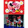 Incrível! Kit Minnie 8 Peças + Painel Em Lona 2,00x1,40mt Só