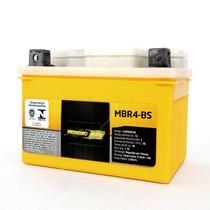 Bateria Moto Pioneiro Mbr4-bs 12v-4ah Biz 100 / Titan 125 Ks