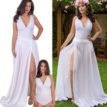 deb909a29f16 Busca vestido longo liso com os melhores preços do Brasil ...