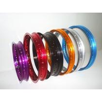 Aro Aluminio 19x185 Bros 125/150 Dianteiro Cores
