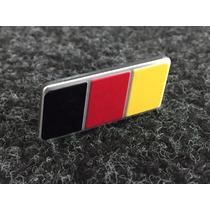 Emblema Vw Alemanha Germany Fox Rock In Rio - Grade