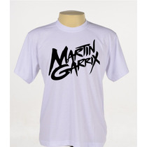 Camisa Camiseta Personalizada Dj Martin Garrix Manga Curta