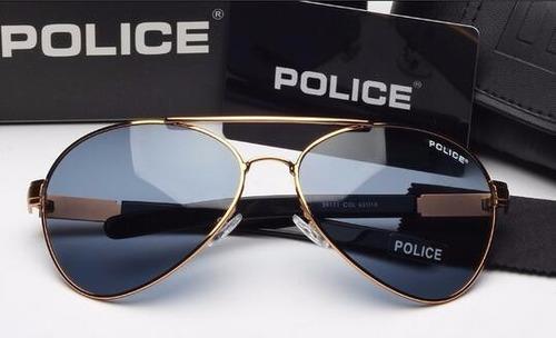 Óculos De Sol Aviador Masculino Police Frete Grátis 100% Top. R  149.9 e1e9566c09