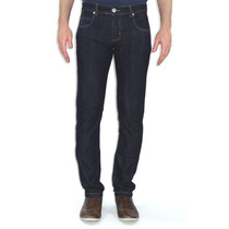 Calça Jeans Azul Skinny Slim Fit Estilo Levi