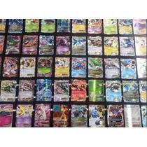 Pokemon Mega Pacote 50 Carta Com Gx Ex Turbo S/ Repetidas