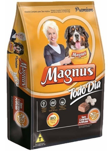 Ração Magnus Todo Dia Cães Adulto 25kg + Brinde Barato