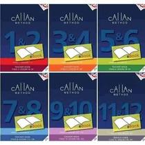 Curso De Inglês Callan Method 12 Livros + Audios + Testes