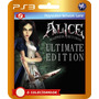 Alice Madness Returns Ultimate Edition (código Ps3)