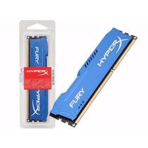 Memoria Ddr3 8gb 1600mhz Hyperx Fury Blue