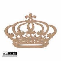 Coroa De Princesa Mdf 80 Cm Decoração De Festas Provençal