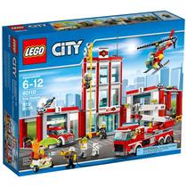 Lego 60110 - Lego City - Quartel Dos Bombeiros