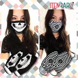 Máscara K-pop - Brinde Kpop Exclusivo