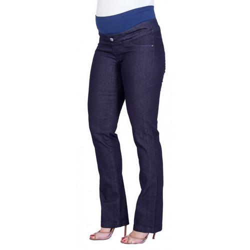 Calça Jeans Gestante Cós Tradicional