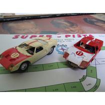 Autorama Super Pista - Estrela - Anos 60 - 2 Carros Ford Gt