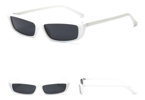 70f6b36ea Óculos Pequeno De Sol Fino Proteção Uv400 Masculino Feminino