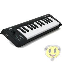 Teclado Controlador Midi Korg Microkey 25 - Oferta Kadu Som