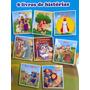 Super Kit 8 Livrinhos Historias Biblicas + Cd Rom No Leilão