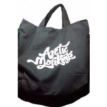 Bolsa Arctic Monkeys Sarja C/ Zíper Bolso Interno Rock