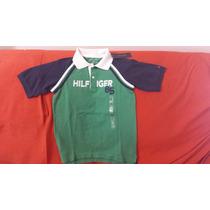 Tommy - Camiseta Polo Infantil - 8 A 10 Anos - Original- Eua