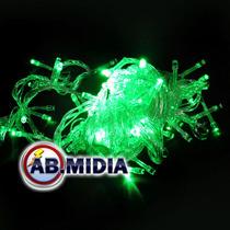 Pisca Pisca Led 100 Lampadas Verde Natal Led Decoracao
