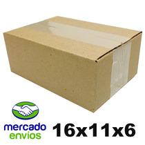 Caixas De Papelao Para Envio Correios 16x11x6 Cm - 200 Und