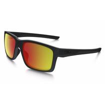 Oakley Mainlink Matte Black - Ruby Iridium Polarized