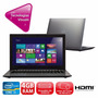 Notebook Touch Cce Ht345 Intel Core I3 4gb 500gb Tela Led 14