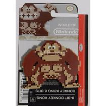 Boneco World Of Nintendo - 8-bit Donkey Kong - Jakks Pacific