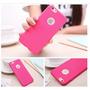 Capa Case Iphone 6 Plus 5.5 Silicone Ventilada Rosa Pink