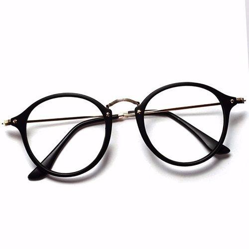 bf2c3bf92 Armação Óculos De Grau Redondo Masculino Feminino Brinde à venda em ...
