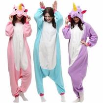 Unicórnio Pijama Macacão Unicornio Kigurumi Pronta Entrega