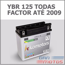 Bateria Moto Yamaha Ybr 125 K/e/ed Todas - Factor Até 2009