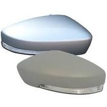 Capa Retrovisor C/ Pisca Fox,golg6,prata,preto Brilhante Ld