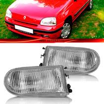 Farol Auxiliar Clio Scenic Megane Laguna R19 1999 Vidro