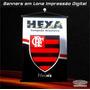 Banner Dos Times Vasco Flamengo Fluminense 0,50 X 0,70m