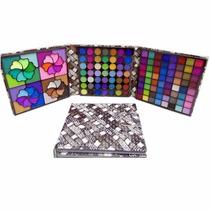 Paleta Maquiagem Jasmyne Kit 153 Cores Estojo Sombras 3d Fos
