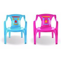 Cadeira Poltrona Plástica Infantil Creche Escola
