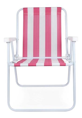 Cadeira Praia E Piscina Mor Aço 2002 Liquidação Cor Sortidas