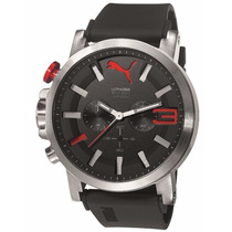 Relógio Puma Ultrasize 2 Anos Garantia 96258g0psnu1 Pv
