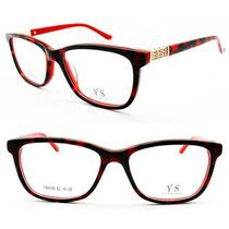 Óculos Armação Feminina Para Grau - Frete Gratis