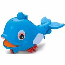Bichos Divertidos Brinquedo Peixe Baleia Joga Água Zoop Toys