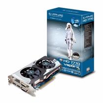 Placa De Vídeo Sapphire Radeon Hd 7770 Vapor X 1gb 128 Bits