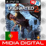 Uncharted 2 Ps3 Play3 Completo Todas Dlcs Portugues Portugal