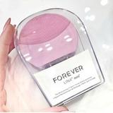 Escova De Limpeza Facial Elétrica Forever Lina2  + 1 Brinde
