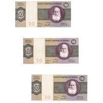 Cédula Dinheiro Antigo 10 Cruzeiros, C-137, D. Pedro Il