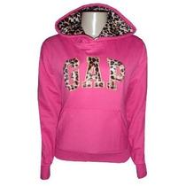 Blusa Gap Feminina De Onça Jaqueta Casaco Rosa Pink