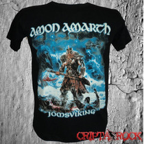 Camiseta De Banda Rock Heavy Metal Camisa Amon Amarth