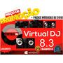 Virtual Dj 8.3/ddj Sb3/ Rx2/sr2- Build4514 + Musicas Dj 2018