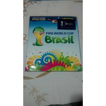 Album Da Copa Do Mundo 2014 - Completo + Capa Plastica