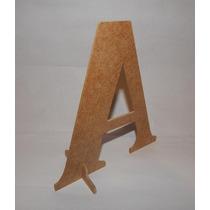 Letras 18 Cm Mdf Provençal - Alfabeto - Decoração De Festas